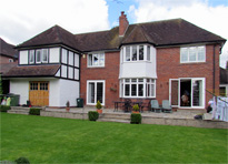 Extensions and alterations in Solihull - rear
