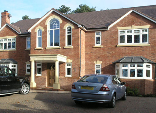 New dwelling in Barnt Green - front